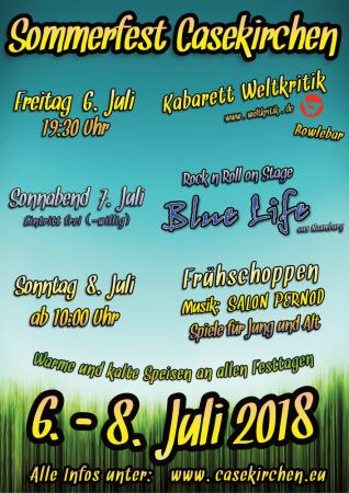 Sommerfest 2018 Plakat